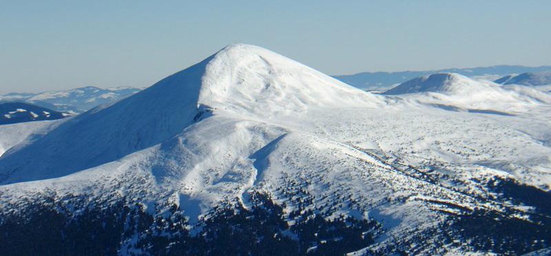 Лучше гор могут быть только горы! Hoverla-winter